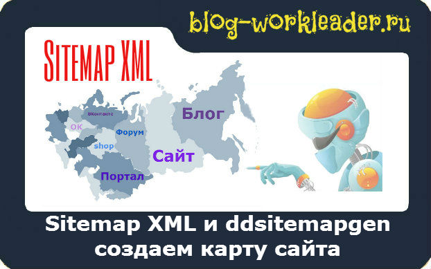 Создать карту сайта для Wordpress